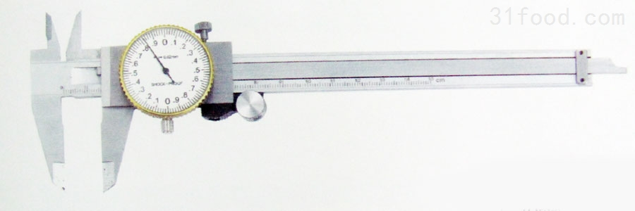上工0-100mm带表卡尺